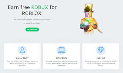 Rbxoffers.com Get Robux Roblox On Rbx offers